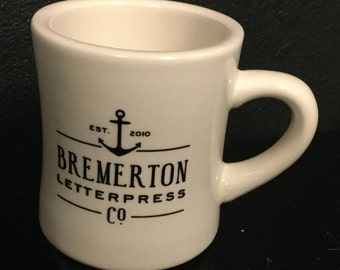 Coffee Mug - Bremerton Letterpress Co Anchor