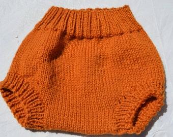 Pumpkin wool soaker