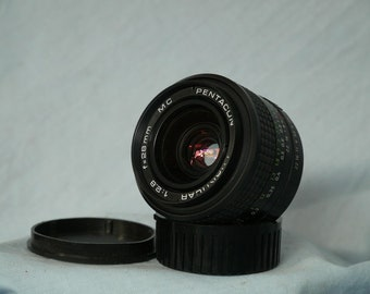 28mm 2.8 Pentacon Prime  Wide Angle Lens Praktica Bayonet -Nice-Great Bokeh-Mint-