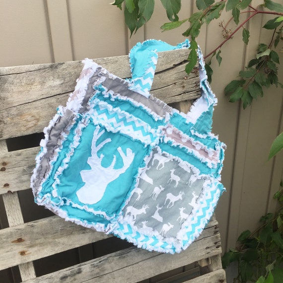 Rag Bag Sewing Pattern - Diaper Bag Pattern - How to Make a Purse ...