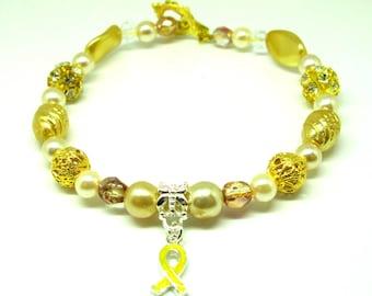Childhood Cancer Support Bracelet