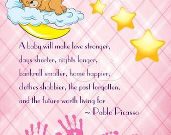A Baby Girl... Printable JPEG!