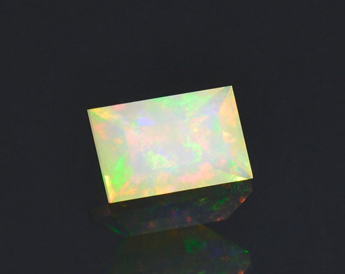 FLASH SALE! Lovely Multi Color Opal Gemstone from Ethiopia 1.11 cts.