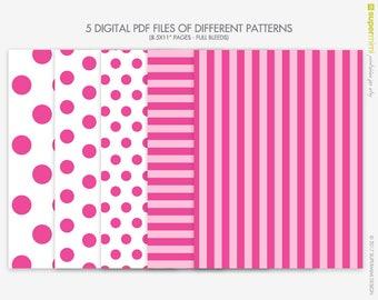 Pink victoria secret etsy pink love pink stripes polka dots victoria secret themed backgrounds instant digital download voltagebd Choice Image