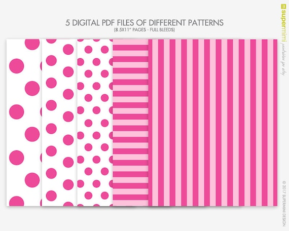 stripes and polka dots