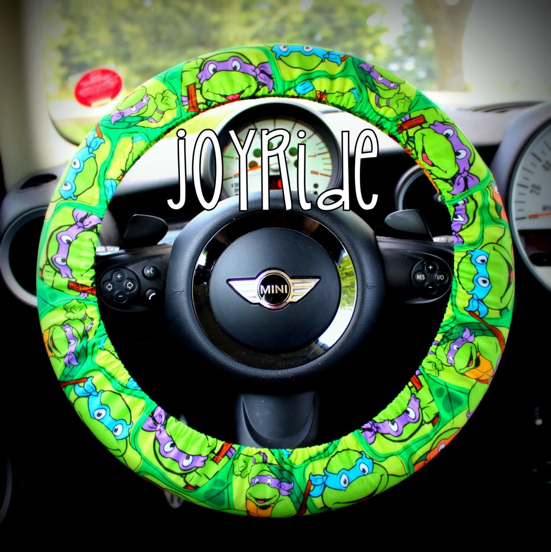 Steering Wheel Cover Teenage Mutant Ninja Turtles TMNT Cartoon