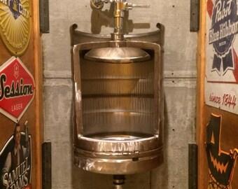 Keg, Stainless Beer Keg Urinal,  Ultimate Man Cave , keg urinals for sale, Urinals for restaurants and bar, keg urinals