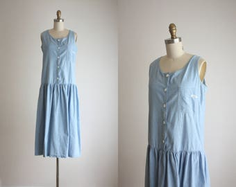 chambray field dress