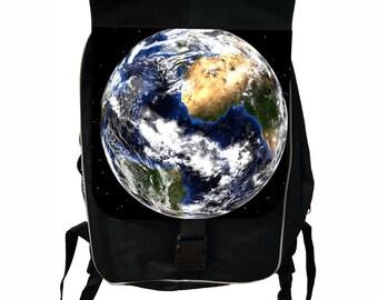 World Large Black School Backpack
