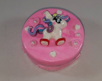 Unicorn Keepsake Tin