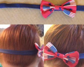 The American Flag (Red) Headband