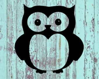 Owl Decal/Owl Decals/Owls/Decals