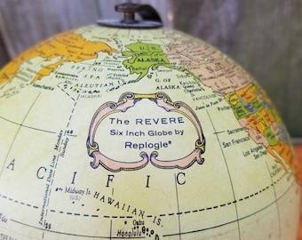 The Revere 6 inch Globe by Replogle