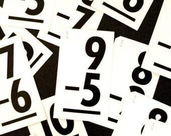 Dozen Vintage Flash Cards