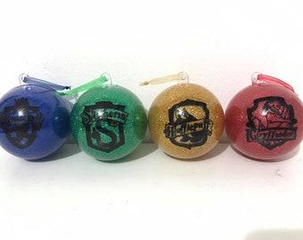 Hogwarts House Christmas Bauble Set