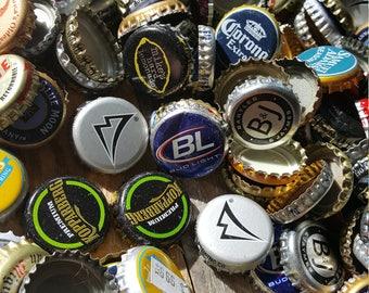 Bulk Lot of Bottle Caps! Beer! Soda! Beverage Caps! 1 Quart Recycled Caps!