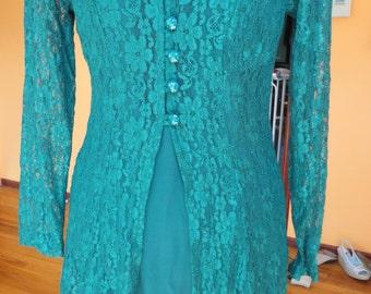 Dawn Joy Fashion Green Dress