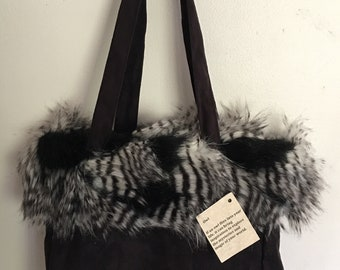 Feathered Owl Tote