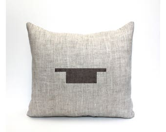 """rest pillow, musician gift, music lover, music pillow, music gift, music room decor, music room pillow """"The Whole Rest"""""""