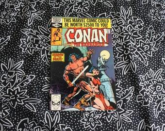 Conan The Barbarian #114 Vintage Marvel Comic Book. 1980 Barbarian Fantasy Bronze Age Comic. 80s Conan Barbarian Comic