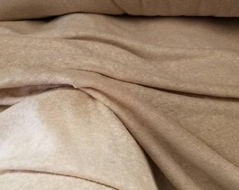 "ORGANIC Hemp/cotton Jersey knit blend by the yard eco-friendly natural fiber 7-7.5oz per yard ""NATURAL@A"""