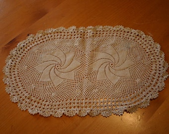 Handmade Crocheted Lace  Doilies