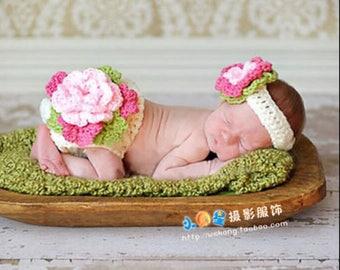 Crochet Photo Prop Set