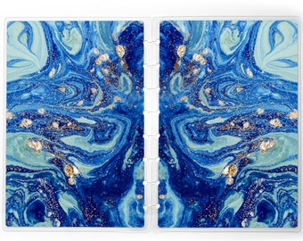Blue Marble Planner Cover for use with Erin Condren Lifeplanners™, Staples® Arc Discbound, The Happy Planner™, TUL™