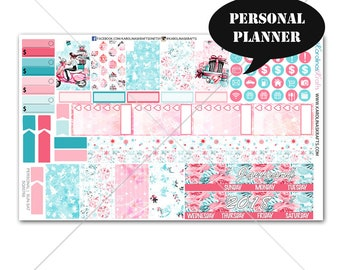 Winter Planner Stickers MONTHLY Planner Kit, Sew Much Crafting Stickers, Monthly Sticker Kit, Personal Planner Kit #SQ00766-Personal