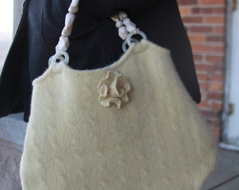 purse,handmade,tote,yellow,spring,repurpose,recycle,upcycle,bag,handbag,