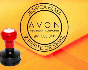 Avon Stamp, Avon Catalog Stamp, Avon Consultant Stamp Z35