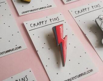 Ziggy Stardust Pin