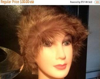 on sale Beautiful Unused Vintage Canadian Fur Hat