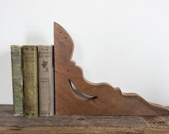 Vintage Wooden Corbel