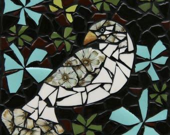 Wildmoor bird mosaic wall hanging