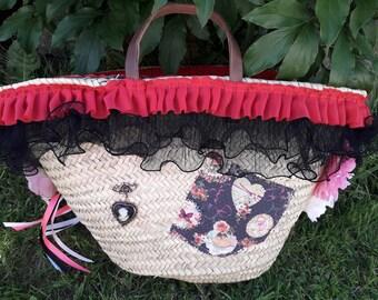 Large tote bag, or large beach bag