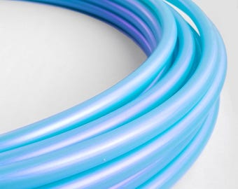 Blue Pearl 3/4 Polypro Hula Hoop// Customizable//Supper Light Weight//Trick Hoop//Dance Hoop