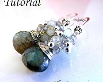 NEW Tutorial - Cluster Earrings
