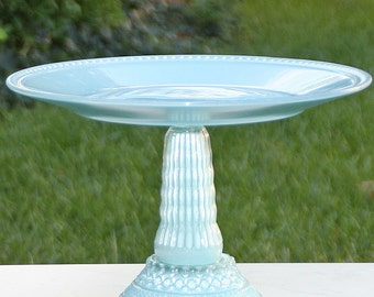 Blue Vintage Reclaimed Cupcake-Cake Stand Made to Order