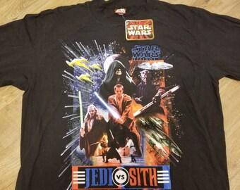 New XL vintage star wars shirt, episode 1 shirt,NWT, NEW, starwars