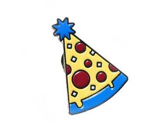 Pizza Party Enamel Pin