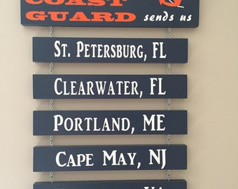 Home is where the Coast Guard sends us