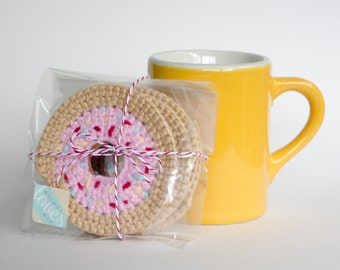 Donut Coaster Set
