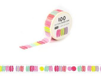 Small Masking Tape / Washi Tape / Deco Tape - 15mm - Macaroons