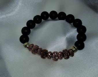Autumn Pave Essential Oil Diffuser Bracelet
