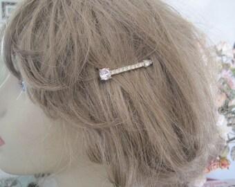 Vintage Rhinestone Bobby Pin Hair Pins Bridal Barette Wedding