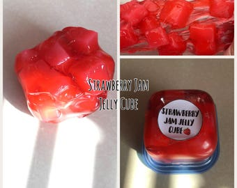 Strawberry Jam Jelly Cube (scented strawberries)