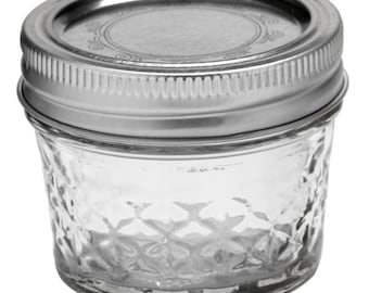 4oz Ball jelly jar magic candle
