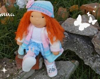 Waldorf doll, waldorf inspired doll, steiner doll, doll waldorf, cloth doll, fabric doll, cuddle doll, handmade