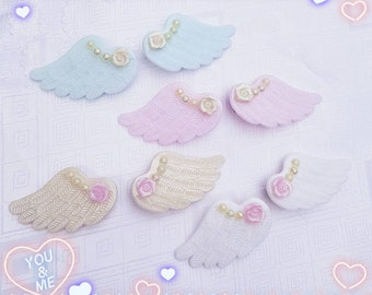 Angel hair clips fairy kei cult party kei larme lolita